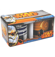 Star Wars R2D2 & C3PO Set Of 2 Egg Cups