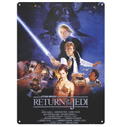 Star Wars Return Of The Jedi Large Tin Sign